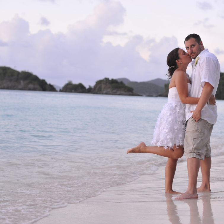 Trunk Bay Wedding