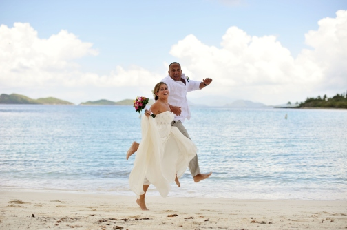 Lindqusit Beach Wedding